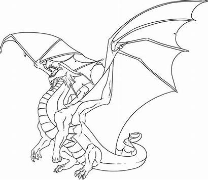 Dragon Coloring Pages Printable Dragons Adults Drawings