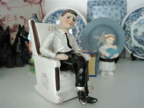 Jfk Rocking Chair Salt And Pepper Shakers by The Allee Willis Museum Of Kitsch 187 Vintage Jfk Salt