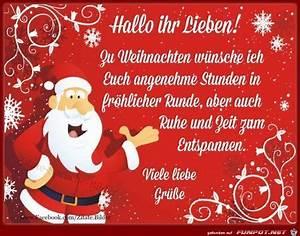 Schöne Weihnachten Grüße : 295 besten gr sse zu weihnachten neujahr bilder auf ~ Haus.voiturepedia.club Haus und Dekorationen