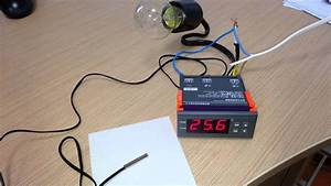 Digital Temperature Controller Mh 1210 A