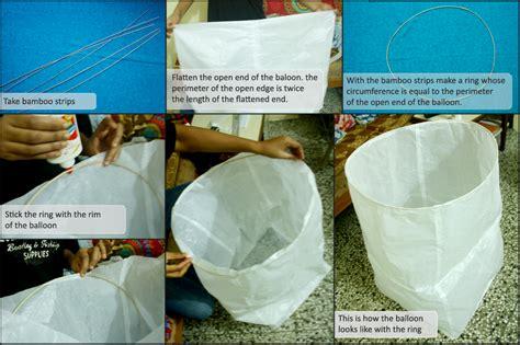 make a flying lantern sky lanterns aditiodyssey