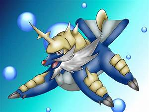 Pokemon: Samurott by Ink-Leviathan on DeviantArt
