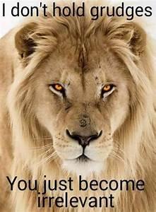 17+ best ideas ... Lion Sign Quotes
