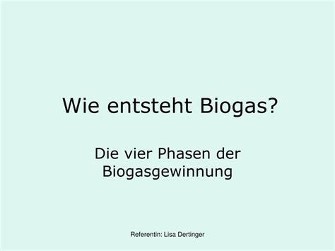 Wie Entsteht Biogas by Ppt Gfs Biogasanlage Powerpoint Presentation Id 539115