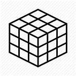 Icon Rubik Cube Icons Rubiks Solved Library