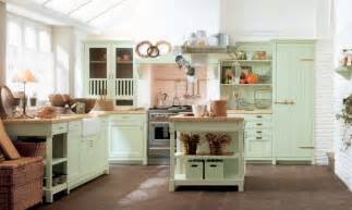 country decorating ideas for kitchens mint green country kitchen decor interior design ideas