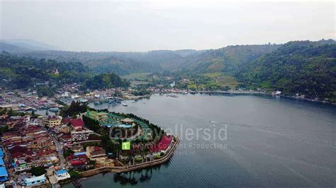 stock of parapat city landscape near lake toba sumatera travellersid