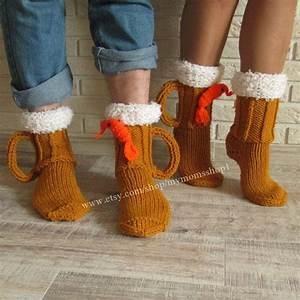 Kreative Geschenke Für Männer : socks for men knit socks beer shrimp socks mens socks beer glass socks man sock woman socks ~ Orissabook.com Haus und Dekorationen