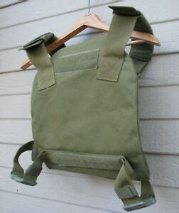 army blackhawk plate carrier size large  front    plates loc  ebay