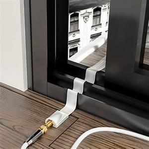 Mini Sat Schüssel Für Fenster : deleycon fensterdurchf hrung sat kabel mit klebepads ~ Articles-book.com Haus und Dekorationen