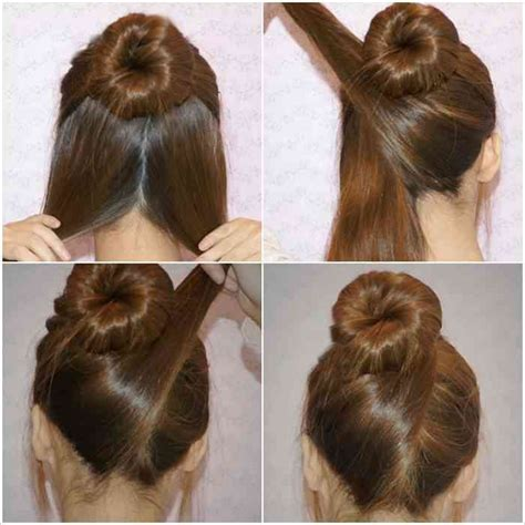 cute easy hairstyles tutorials     minutes