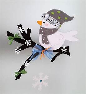 Vögel Im Winter Kindergarten : fensterbild vogel auf dem zweig winter 2 weihnachten dekoration tonkarton eur 9 90 ~ Whattoseeinmadrid.com Haus und Dekorationen