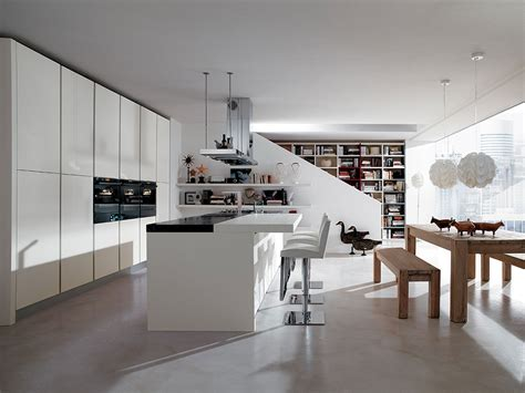 cuisine italienne moderne cuisine italienne moderne cuisine ouverte sur salon de