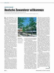 Arbeiten Im Ausland Deutsche Zuwanderer Willkommen
