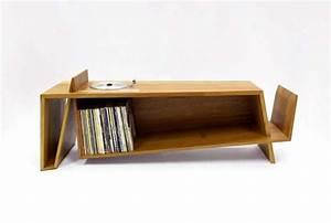 Meuble Platine Vinyle Vintage : 40 meubles pour ranger des vinyles vintage pinterest vinyle mobilier de salon et meuble ~ Teatrodelosmanantiales.com Idées de Décoration