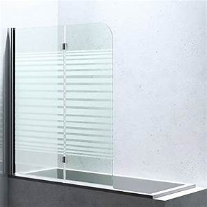 Duschwände Für Badewanne : bxh 117 141 cm duschabtrennung duschwand f r badewanne aus glas cortona1408s links ~ Buech-reservation.com Haus und Dekorationen