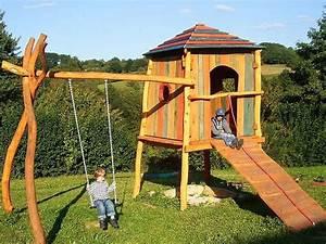 Kinderspielplatz Selber Bauen : spielgeraete rheber spielturm garten zuh garten spielturm garten garten und spielturm ~ Buech-reservation.com Haus und Dekorationen