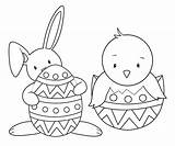 Easter Coloring Bunny Printable Spring Egg Colouring Sheets Happy Cool Springtime Crazylittleprojects Animal sketch template