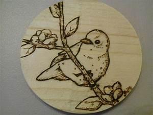 Pyrogravure Sur Bois Professionnel : tuto dessiner sur le bois avec la pyrogravure crayons et pinceaux ~ Nature-et-papiers.com Idées de Décoration
