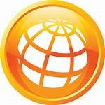Website Icon Orange Symbol Transparent Clipart Icons