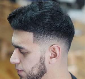 Dégradé Barbe Homme : id e coiffure homme avec coupe courte et d grad am ricain bas coiffure avec barbe 3 jours ~ Melissatoandfro.com Idées de Décoration