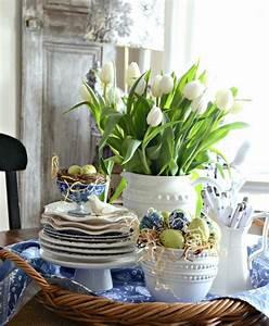 Tischdeko Für Ostern : festliche tischdeko f r ostern selber machen 27 ideen ~ Watch28wear.com Haus und Dekorationen