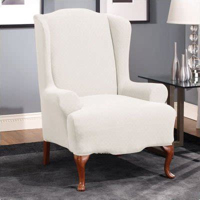 Discount Chair Slipcovers by Wing Chair Slipcover 89 00 Wing Chair Slipcover Reviews