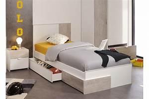 Lit Maison Enfant : lit enfant avec tiroir rangement ~ Farleysfitness.com Idées de Décoration