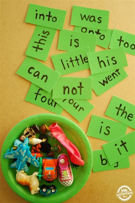 sight word games   published  kids activities blog