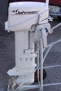 Used Johnson 9 9 Hp Long Shaft 20 U0026quot  Shaft Boat Motor
