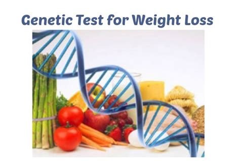 genetic test for weight loss you be fit