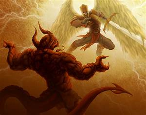 Demon Vs Angel War | www.imgkid.com - The Image Kid Has It!