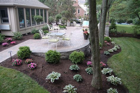 Backyard Patios by Patios And Walkways Archives Tinkerturf