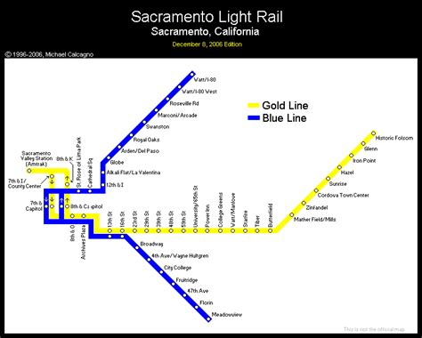 sacramento light rail map world nycsubway org sacramento california