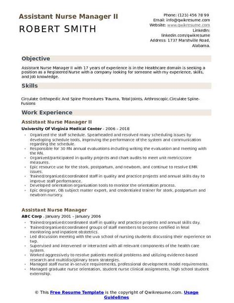 Resume For Assistant Manager Position by Assistant Manager Resume Sles Qwikresume