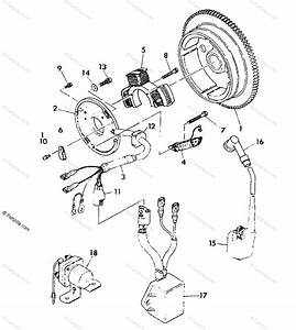 Polaris Atv 1991 Oem Parts Diagram For Magneto Assembly 350 4x4 Update