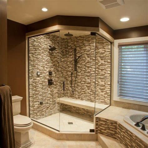bathroom corner shower ideas walk in shower designs and things to consider when adding this type of shower