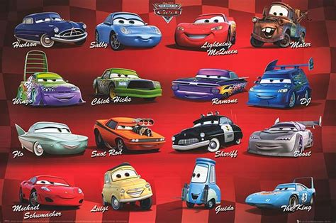 2006 Cars Characters Then & Now  By Myimprov
