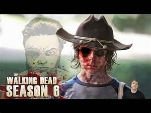 The Walking Dead Season 6 - Will Carl Lose an Eye? - YouTube