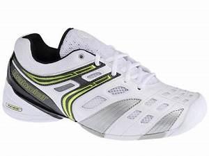 Babolat Mens V Pro Indoor Carpet Tennis Shoes White Lime