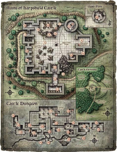 floorplan for my 130 best location maps images on dungeon maps