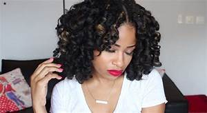 Crochet Braids With Wet And Wavy Hair | Short Hairstyle 2013
