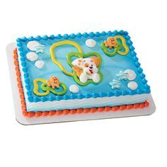 bubble guppies sheet cake with gil and bubble puppy