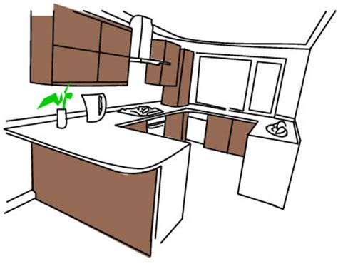 g shaped kitchen design layout g shaped kitchens build 6769