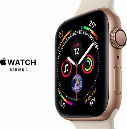 Apple Series Reloj Gps 44m Rosado Oro