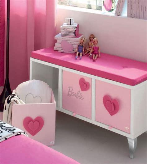 cute  beauty barbie pink bedroom design  teenager