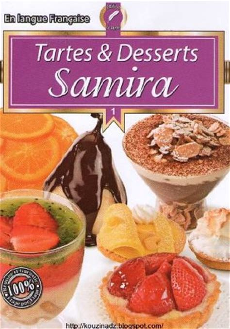livre de cuisine pdf gratuit la cuisine algérienne samira tartes et desserts