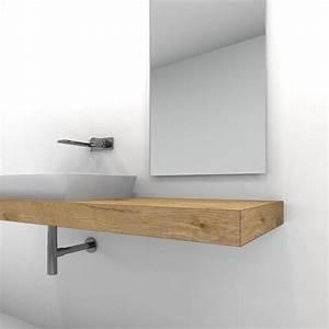 Waschtischplatte Holz Für Aufsatzwaschbecken : die besten 25 waschtischplatte ideen auf pinterest ~ Lizthompson.info Haus und Dekorationen