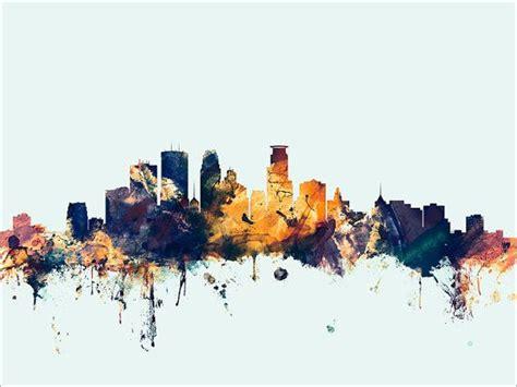 minneapolis skyline minneapolis minnesota cityscape
