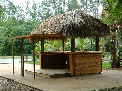 Thai Tiki Hut by Tiki Hut Fully Contained Tiki Hut Concession Stand Palm